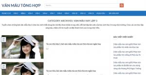 Top 10 website những bài văn mẫu hay lớp 3 mới nhất